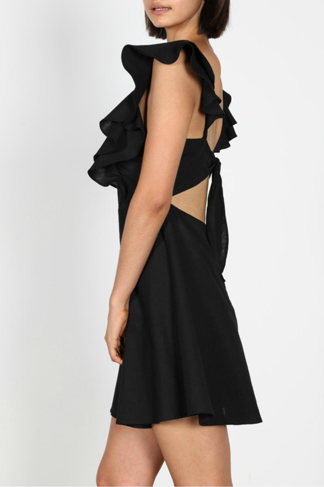 essue Tie Back Dress - Side Cropped Image