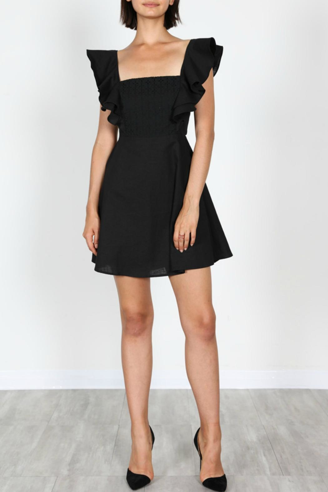 essue Tie Back Dress - Front Cropped Image