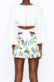essue Bold Crop Top - Back cropped