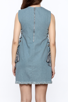 essue Sleeveless Denim Dress - Alternate List Image