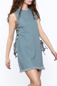 essue Sleeveless Denim Dress - Product List Image