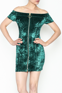 Shoptiques Product: Zip Up Front Dress