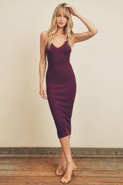 dress forum Estelle Ribbed Midi - Front cropped