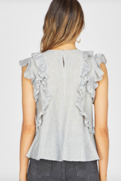 Greylin Estelle Striped Ruffle Top - Alternate List Image