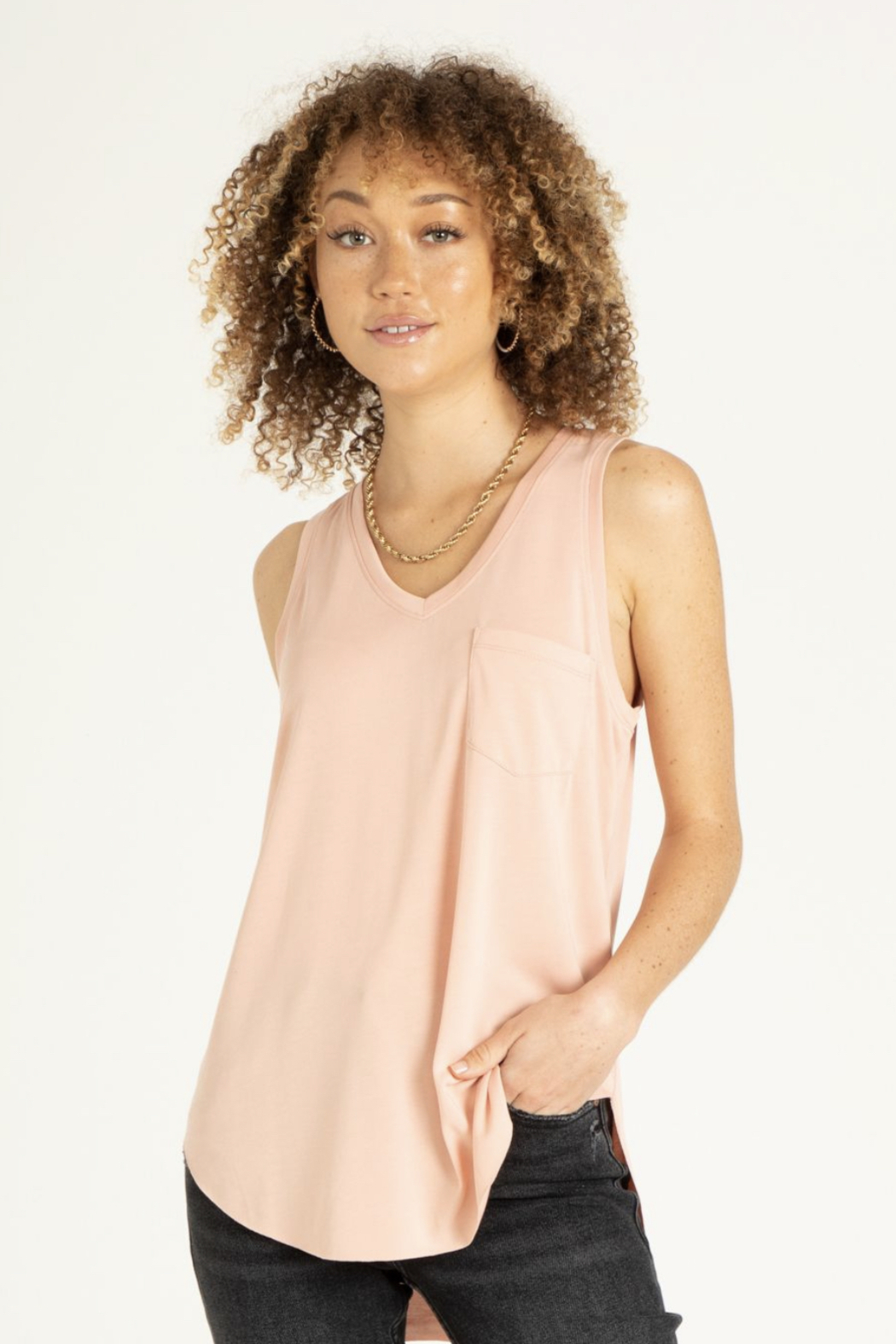 another love  Esther sleeveless V - Main Image
