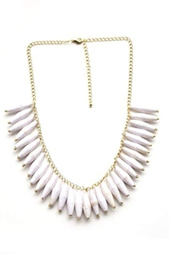 TuLi Esther White Necklace - Alternate List Image