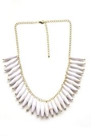 TuLi Esther White Necklace - Product Mini Image