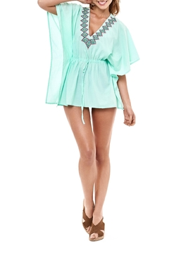 Shoptiques Product: Mint Kaftan Cover Up