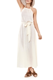 Estivo Beige Sleeveless Cover Up - Product Mini Image