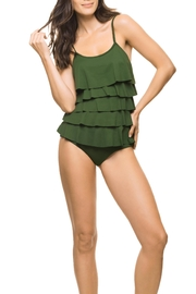 Estivo One Piece Green Swimsuit - Product Mini Image