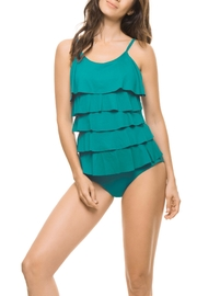 Estivo One Piece Blue swimsuit - Front cropped