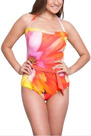 Estivo One Piece Floral Swimwear - Front cropped