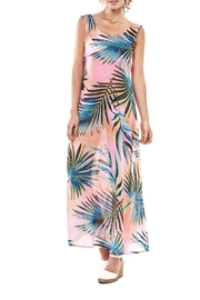Estivo Tropic Cover Up Dress - Front cropped
