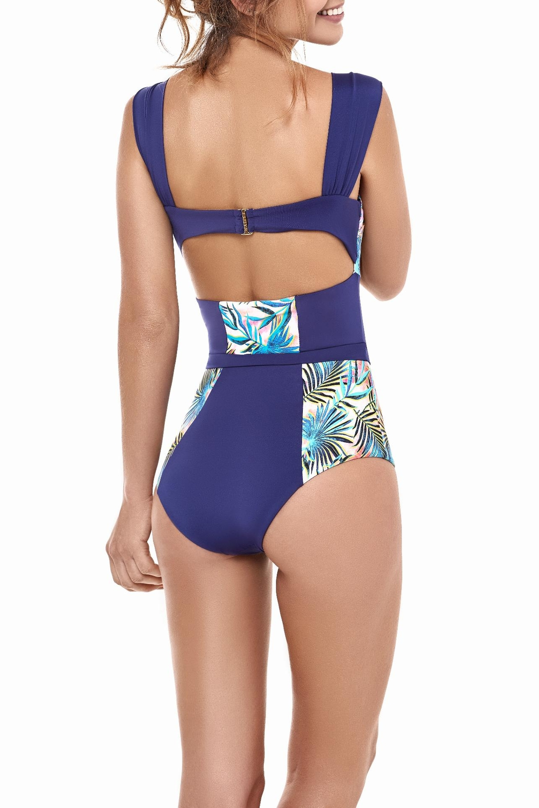 Estivo Tropic One Piece Swimsuit - Front Full Image