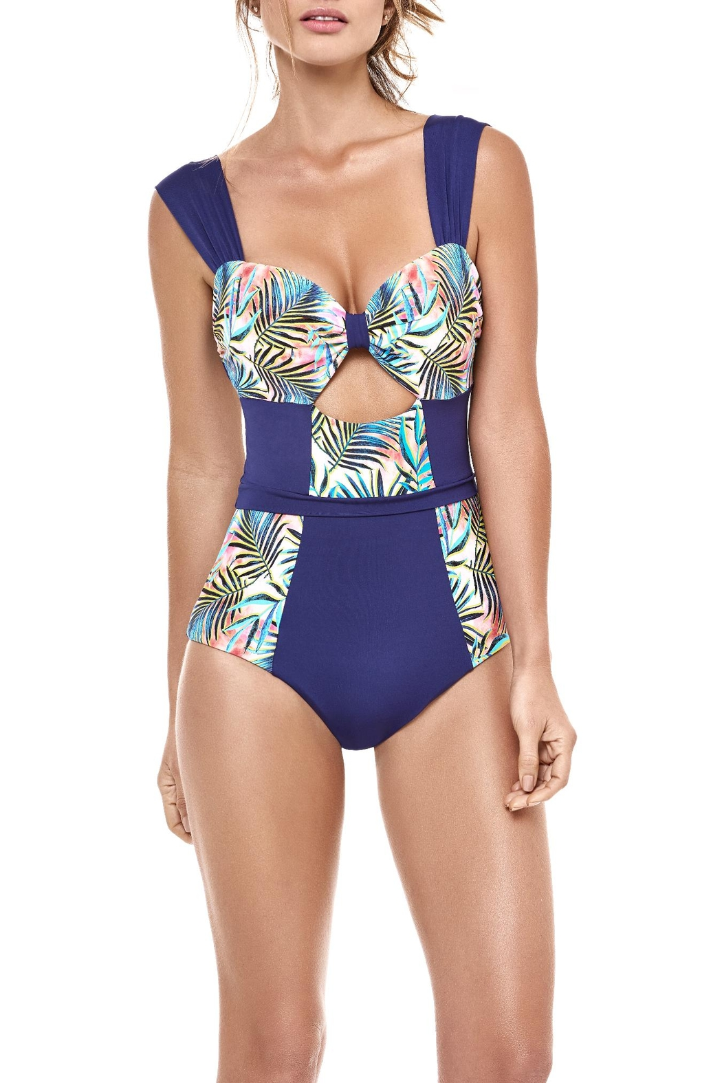 Estivo Tropic One Piece Swimsuit - Front Cropped Image