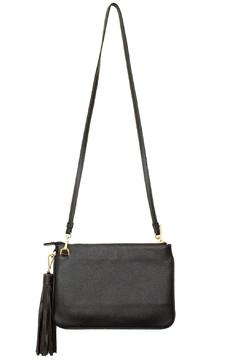 estocolmoapparel Black Leather Cross Body - Alternate List Image