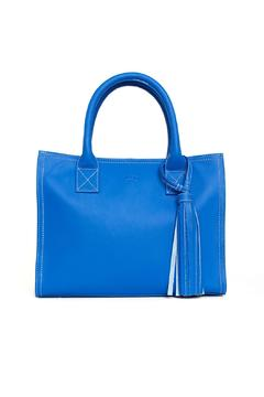 estocolmoapparel Blue Leather Bag - Product List Image