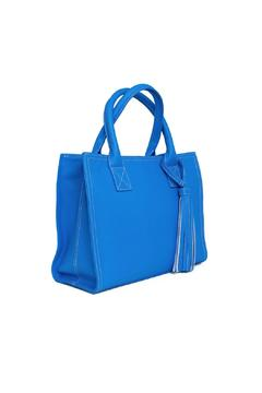 estocolmoapparel Blue Leather Bag - Alternate List Image