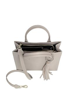 estocolmoapparel Grey Leather Bag - Alternate List Image