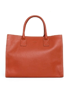 estocolmoapparel Orange Leather Organizer - Product List Image