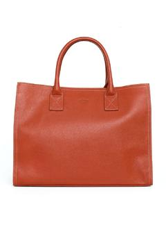 Shoptiques Product: Orange Leather Organizer