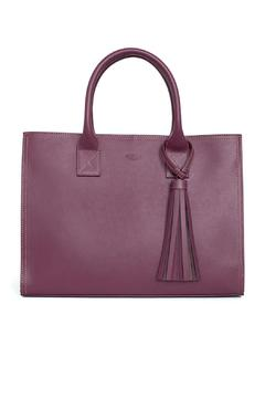 estocolmoapparel Purple Leather Handbag - Product List Image