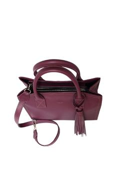 estocolmoapparel Purple Leather Handbag - Alternate List Image