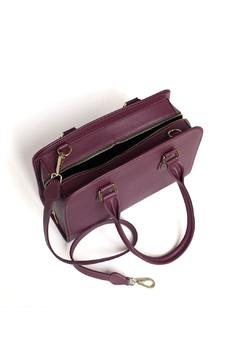 estocolmoapparel Purple Leather Purse - Alternate List Image