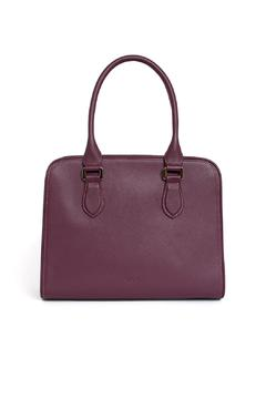 estocolmoapparel Purple Leather Purse - Product List Image