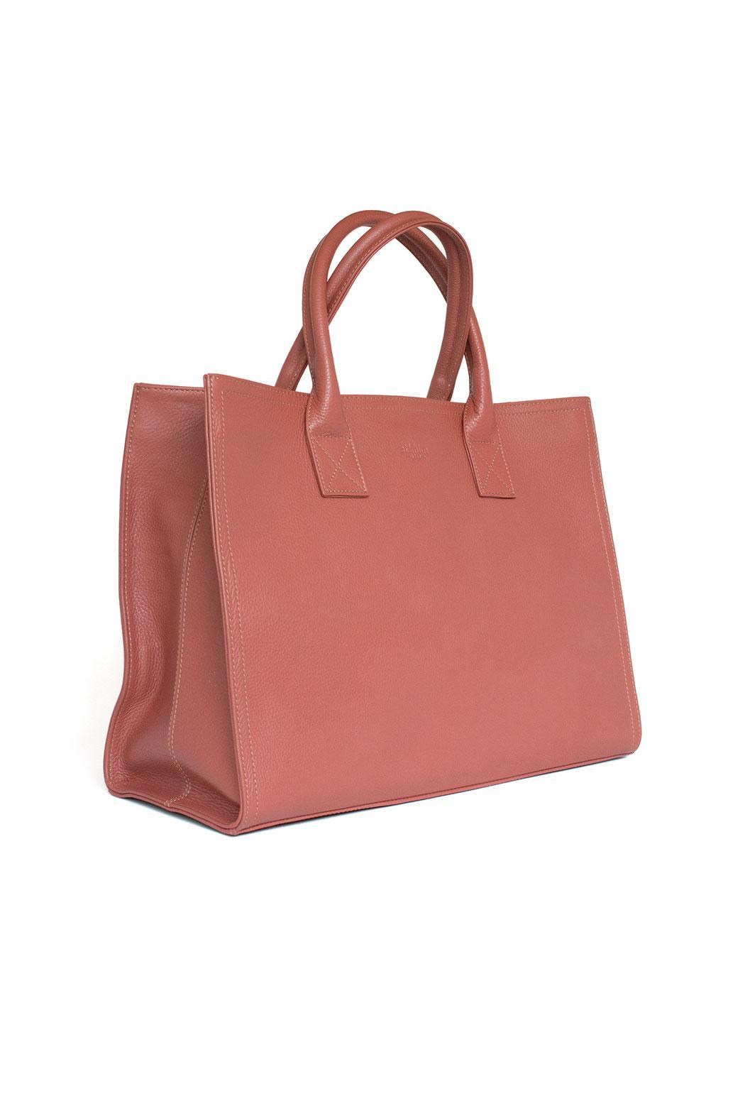 estocolmoapparel Salmon Leather Organizer - Side Cropped Image