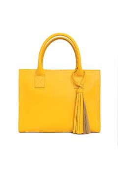 estocolmoapparel Yellow Leather Handbag - Product List Image