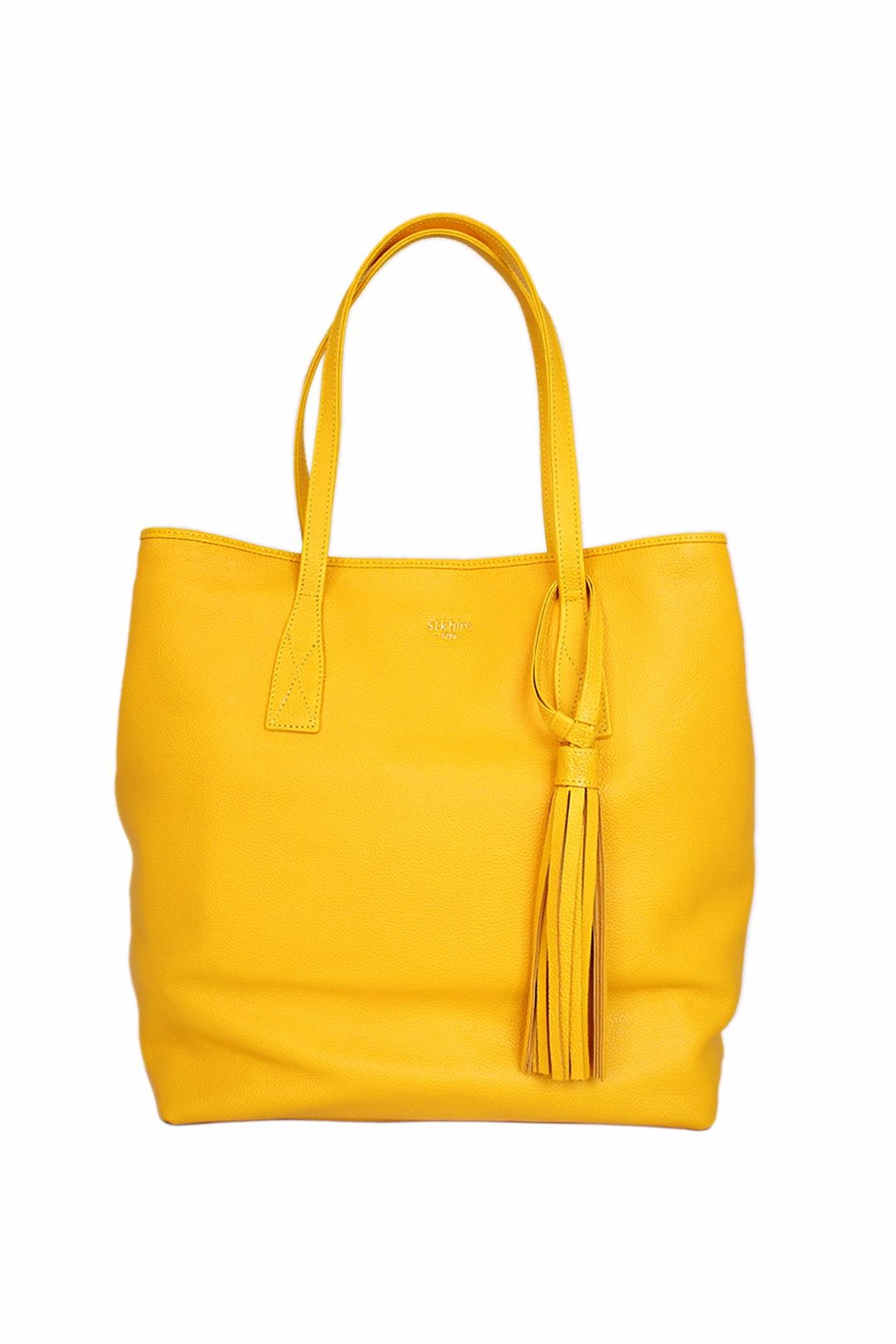 estocolmoapparel Yellow Tote - Front Full Image
