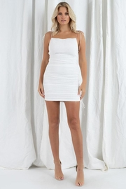 Et Clet Side Ruched Dress - Product Mini Image