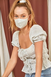Et Clet Top Mask And Hair Scrunchie Set - Product Mini Image
