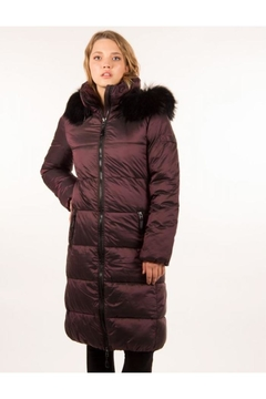 ETAGE Iridescent Fur-Trimmed Parka - Product List Image