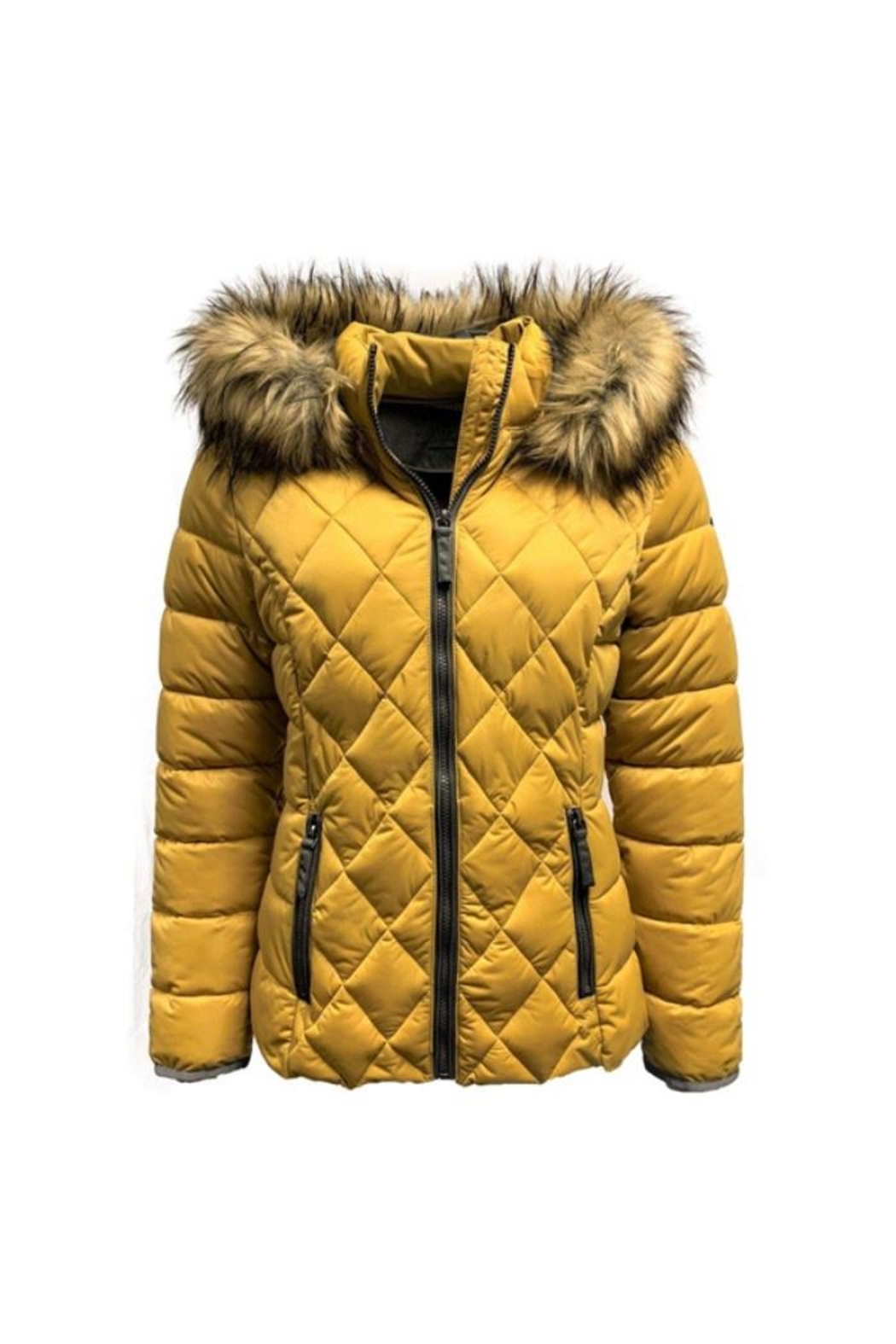ETAGE Stretch Quilted Puffer-Jacket - Front Full Image