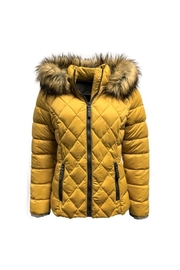 ETAGE Stretch Quilted Puffer-Jacket - Front full body