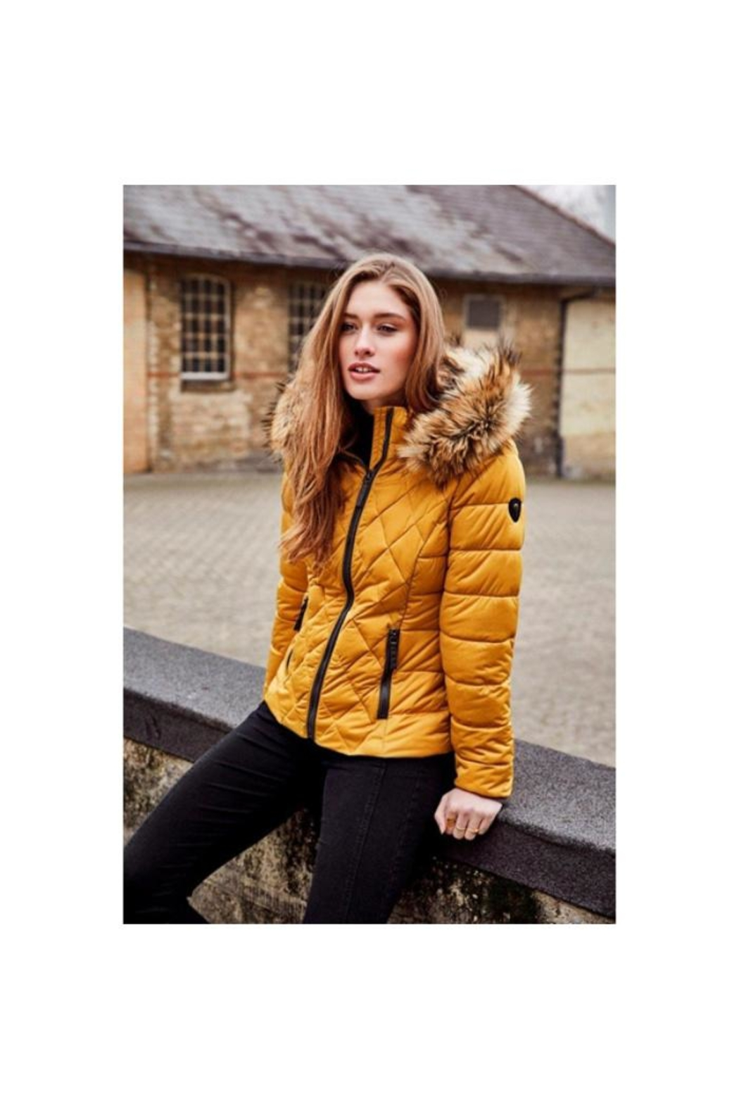 ETAGE Stretch Quilted Puffer-Jacket - Main Image