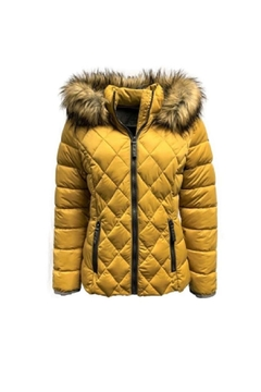 ETAGE Etage Strech Quilted Puffer - Alternate List Image