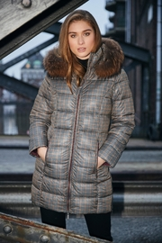 ETAGE Petit-Check Parka - Product Mini Image