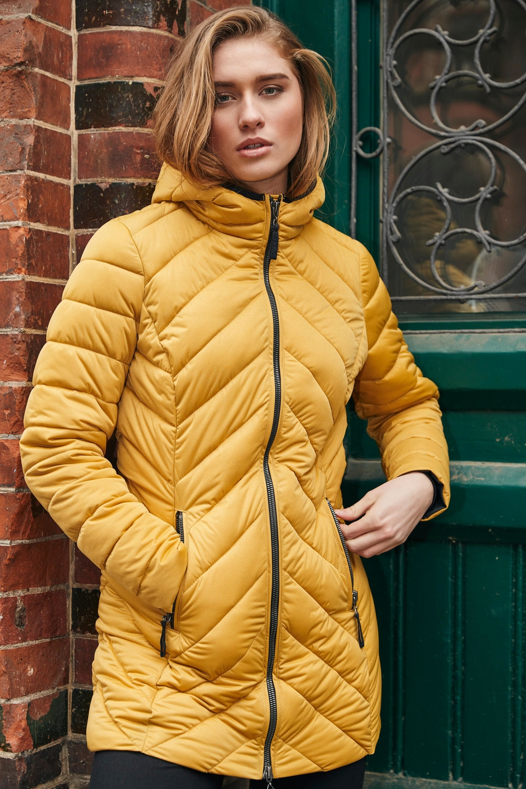 ETAGE Stretch Quilted Puffer - Main Image