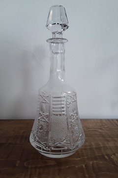 Ró   Etched Crystal Decanter - Alternate List Image