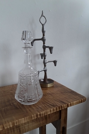 Ró   Etched Crystal Decanter - Product Mini Image