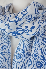 Eternal Threads Cotton Kalamkari Scarf - Product Mini Image
