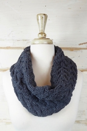 Eternal Threads Hand Knitted Cowl - Front full body