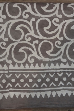 Eternal Threads Kalamkari Table Cover - Alternate List Image