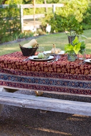 Eternal Threads Kalamkari Table Cover - Product Mini Image