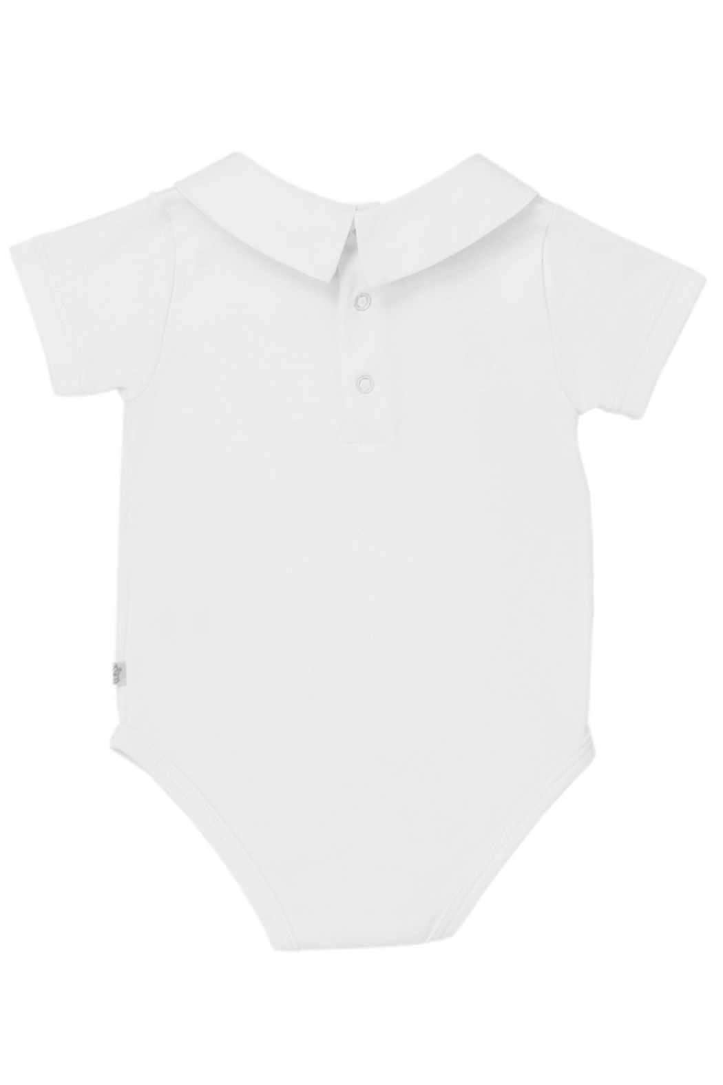 Marie Chantal Ethan Collar Onesie - Front Full Image