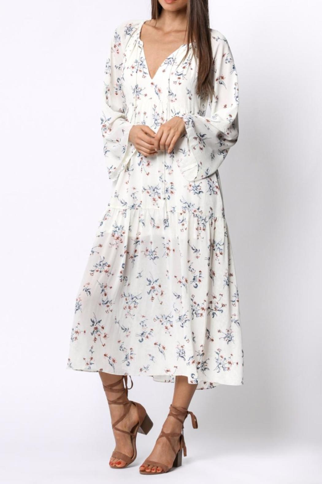 Ethereal Floral Midi Dress - Main Image