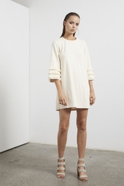 SHILLA THE LABEL Ethereal Fringe Sweater-Dress - Product Mini Image
